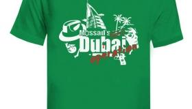 T-shirt Dubaj